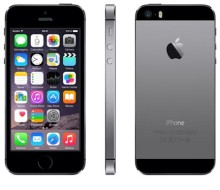 iPhone 5s Space Gray com 4, 4G, iOS 8, Proces. A7, 32GB e Câmera de 8.0 MP