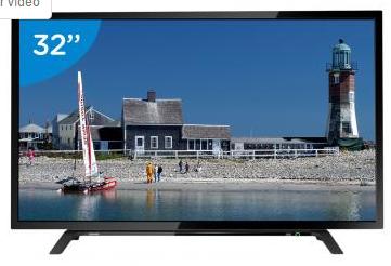 CLIQUE ➤➤ TV LED 32″ Toshiba 32L1500 – Conversor Digital 2 HDMI 1 USB Bivolt   oferta com preço barato em Promoção no site de loja