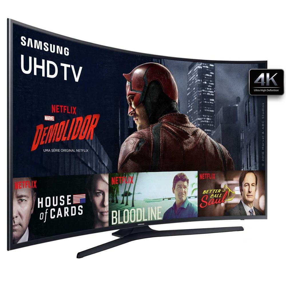 CLIQUE ➤➤ Smart TV LED Tela Curva 49″ Samsung 49KU6300 Ultra HD 4K 3 HDMI 2 USB   oferta com preço barato em Promoção no site de loja