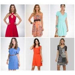CLIQUE ➤➤ Vestidos Mercatto – 9 Modelos   oferta com preço barato em Promoção no site de loja