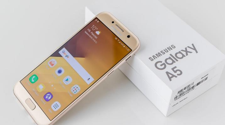 CLIQUE ➤➤ Ótimo!!! Smartphone Samsung Galaxy A5 2017 Duos A520F Desbloqueado Dourado   oferta com preço barato em Promoção no site de loja