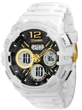 CLIQUE ➤➤ Relógio Masculino X-Games Anadigi, Caixa 5 cm, Pulseira de Poliuretano, Resistência a Água 100 Metros – XMPPA183 B2BX   oferta com preço barato em Promoção no site de loja