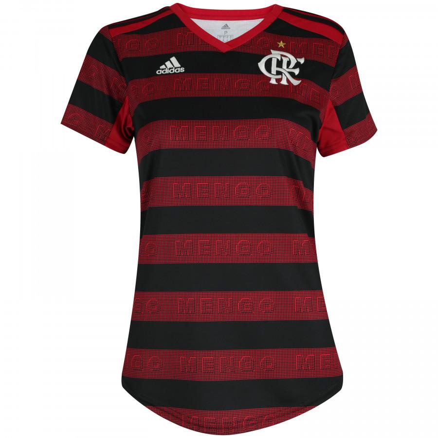 0e825231336f8 Camisa do Flamengo I 2019 adidas - Feminina REF.  934158