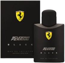 Ótimo Presente!!! Perfume Ferrari Black Masculino Eau de Toilette 125ml