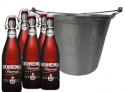 Ótimo Preço!!! Kit Bohemia: Na compra de 5 Cervejas Bohemia Imperial 550ml GANHE 1 Balde Bohemia