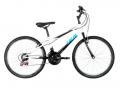 Ótimo!!! Bicicleta Caloi Aro 24 – 21 Marchas Max Juvenil Branca e Preta