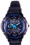 Relógio Masculino Kikos, Anadigi, Pulseira de Poliuterano, Iluminação de LED, Alarme, Resistente á Água 3 ATM – RK02AZ