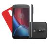 "Smartphone Motorola Moto G4 Plus Dual Chip Android 6.0 Tela 5.5"" 32GB Câmera 16MP -Preto"