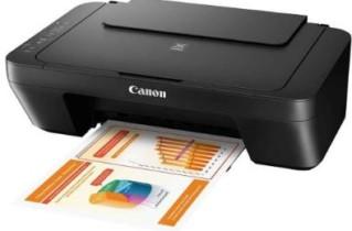 Ótimo Presente para o papai!!! Impressora Multifuncional Canon Pixma MG2510 Jato de Tinta Colorida Preta