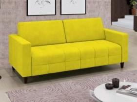 Ótimo Preço!!! Sofá 3 Lugares Revestimento Suede Smart – Linoforte