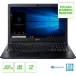 Notebook Acer Aspire 3 A315-53-55DD Intel Core i5-7200U 4GB RAM 1TB
