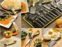 Conjunto de Utensílios Aço Inox Inventare La Cuisine Premium