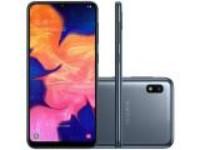 Smartphone Samsung Galaxy A10 32GB Preto Tela 6.2″ Câmera 13MP Selfie 5MP Dual Chip Android 9.0