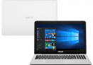 Bom Parcelado!!! Notebook Asus Intel Celeron Quad Core 4GB 500GB Windows 10 Home Tela 15,6″ Série Z Z550SA-XX002T