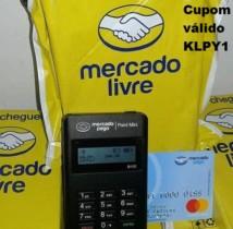 Máquina de cartão – Point Mini Mercado Pago maquininha 68 Reais