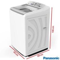 Lavadora de Roupas Panasonic 16kg Branca com 9 Programas de Lavagem, Econavi e Espuma Ativa – NA-F160P5W
