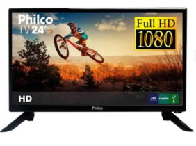 TV LED 24″ Philco PTV24N92D Full HD com Conversor Digital 1 HDMI 1 USB Sleep timer – 60Hz