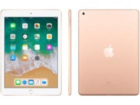 "iPad 6 Apple 32GB Tela 9.7"" Retina – Proc. Chip A10 Câm. 8MP + Selfie iOS 11 Touch ID"