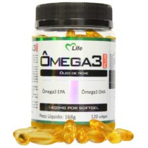 Ômega 3 – 1000Mg – 120 Softgels – Mlife