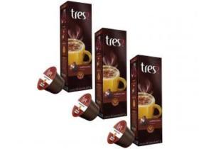 Cápsula de Café 3 Corações Cappuccino TRES – 30 unidades- R$29,70