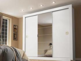 Guarda-roupa Casal 3 Portas Madesa – City 1056-1E com Espelho