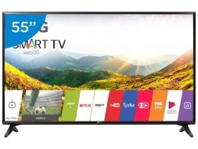 "Smart TV LED 55"" LG 55LJ5550 webOS – Conversor Digital 1 USB 2 HDMI"