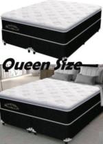 Cama Box Queen Size (Box + Colchão) Plumatex Molas – Ensacadas/Pocket 65cm de Altura Magnum