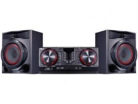 Mini System LG Bluetooh USB MP3 CD Player 440W – Karaokê CJ44 X Boom
