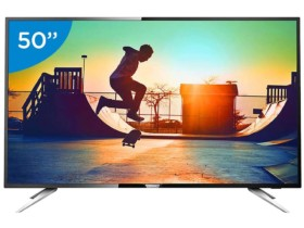 Smart TV LED 50″ Philips 50PUG6102/78 Ultra HD 4K –