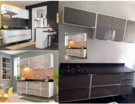 Cozinha Compacta Multimóveis Paris com Balcão – 7 Portas 4 Gavetas