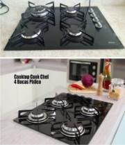 Cooktop 4 Bocas Philco Cook Chef 4 à Gás – Acendimento Automático