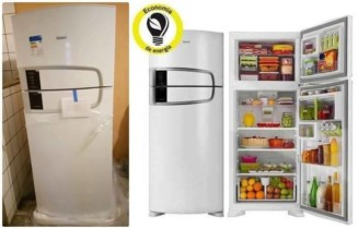 Geladeira/Refrigerador Consul Frost Free Duplex – 437L Bem Estar CRM55ABANA Branco 110 Volts