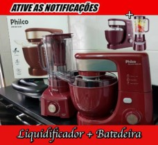 Kit Premium Wine Philco com Liquidificador – BatedeiraVelocidades + Liquidificador PH900
