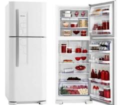Refrigerador | Geladeira Electrolux Frost Free 2 Portas com Controle de Temperatura Blue Touch 382 Litros Branco – DF42
