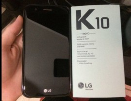 Smartphone LG K10 Novo 32GB Preto Dual Chip 4G – Câm. 13MP + Selfie 5MP Tela 5.3″ Proc. Octa Core