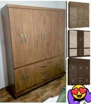Guarda-roupa Casal 10 Portas 3 Gavetas – Araplac Rusti 18490-88