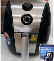 Fritadeira Elétrica Air Fryer/Sem Óleo Britânia – Air Fry BFR02PI 3,2L Timer
