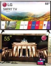 Smart TV LED 55″ LG 55LJ5550 webOS – Conversor Digital 1 USB 2 HDMI 55″ – Bivolt