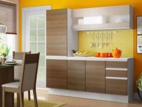 Cozinha Compacta Madesa Smart com Balcão – 8 Portas 2 Gavetas 100% MDF