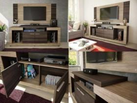 Rack para TV até 55″ 2 Portas com Painel – Caemmun Premium Elegance