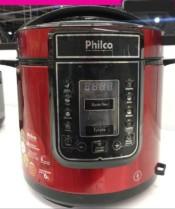 Panela de Pressão Elétrica Philco Digital 100W – 6L Timer Controle de Temperatura