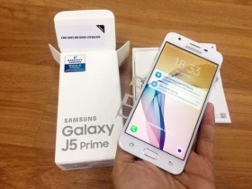 Smartphone Samsung Galaxy J5 Prime Dual Chip Android 6.0 Tela 5″ Quad-Core 1.4 GHz 32GB 4G Wi-Fi