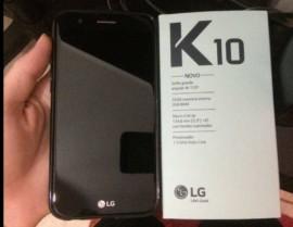 Smartphone LG K10 Novo Dual Chip Android 7.0 Tela 5,3″ 32GB 4G 13MP – Preto