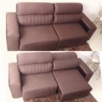 Sofá Retrátil e Reclinável Revestimento Suede Elite Style Linoforte – 4 Lugares (3 cores)