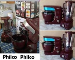 Kit Premium Wine Batedeira Planetária Philco PHP500 Turbo 500W – 12 Velocidades + Liquidificador PH900 Touch
