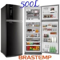Refrigerador Brastemp 500 Litros INOX Frost Free – BRM58