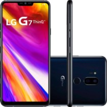 Smartphone LG G7 Thinq Dual Chip Android 8.0 Tela 6.1″ QHD+ Fullvision Qualcomm Snapdragon 845 64GB 4G Câmera 16 + 16MP (Dual Traseira)