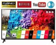"""Smart TV LED 43"""" Full HD LG 43LK5700 com IPS Inteligencia Artificial ThinQ AI WI-FI Processador Quad Core e HDR 10 Pro"""
