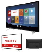 Smart TV LED 32″ Semp Toshiba TCL 32L2800 HD com Conversor Integrado 3 HDMI 2 USB Wi-Fi 60Hz – Preta