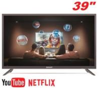 Smart TV LED 39″ Semp TCL L39S3900 Full HD com Conversor Digital 2 HDMI 1 USB Wi-Fi Closed Caption – Grafite
